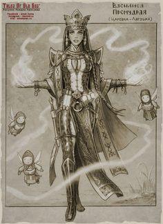Partindo de seus sentimentos e fantasias, ilustrador recriou personagens míticos.