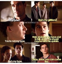This was so funny ❤️ Teen Wolf