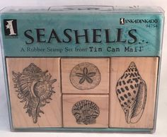 Check out Inkadinkado Seashells Rubber Stamp Set Crafts Cards Scrapbooks New https://www.ebay.com/itm/132150427552 @eBay