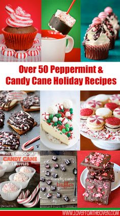 Love peppermint and candy cane?  So many great recipes to make with them for the holidays and Christmas!