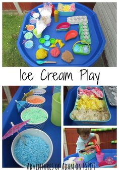 Ice Cream Sensory and Pretend Play for Kids - FSPDT