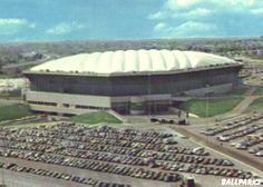 The Pontiac Silverdome.  I remembering seeing Bruce Springsteen and Bon Jovi in concert her.  Along with going rollerskating here.  I also think I saw a rodeo here and maybe a football game.