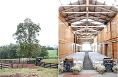 Grand is an understatement at Hermitage Hill Barn & Stables, where a memorable day is guaranteed! Photo Credit: Carley Rehberg Photography