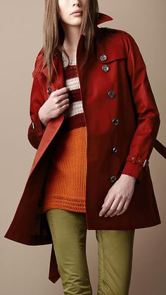Burberry ..Love the coat.