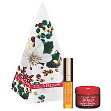 Buy Clarins Festive Treats Eyes And Lip Skincare Gift Set Online at johnlewis.com