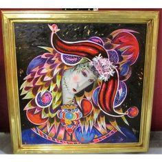 Paintings, Fine Art, Landscape, The Originals, Purple, San Miguel De Allende, Scenery, Paint, Painting