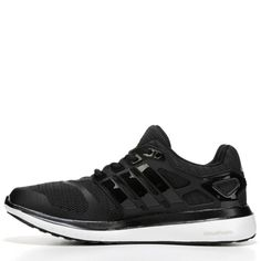 finest selection bb863 a2fd3 Adidas Womens Energy Cloud V Running Shoes (Black White) - 11.0 M Black  Running