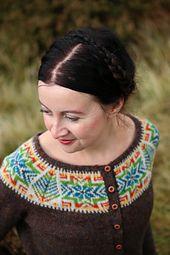 Ravelry: Cockatoo Brae pattern by Kate Davies