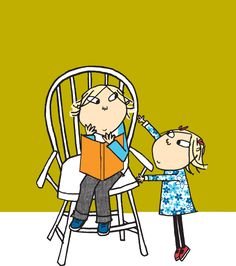 The Illustration of Charlie and Lola