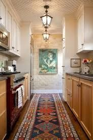 Right now galley kitchens are prevalent in an apartment or small home. Galley kitchen remodel ideas must be efficient for cooking also for the meal space. Galley Kitchen Design, Galley Kitchens, Kitchen Rug, Home Kitchens, Kitchen Decor, Kitchen Ideas, Kitchen Runner, Kitchen Designs, Kitchen Photos