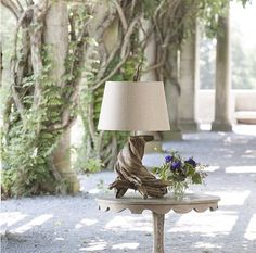 Lovecup Twisty Wisteria Table Lamp