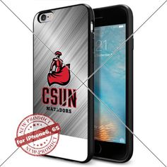 Case Cal State CS Northridge Matadors Logo NCAA Cool Apple iPhone6 6S Case Gadget 1065 Black Smartphone Case Cover Collector TPU Rubber [Silver BG] Lucky_case26 http://www.amazon.com/dp/B017X12VO6/ref=cm_sw_r_pi_dp_vJktwb1V46HM4