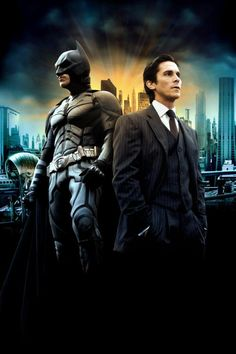 forever my favorite Batman. I mean Christian Bale is just...wow ♥