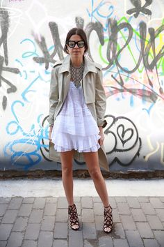 The Value of Investing in The Right Trench Coat | Man Repeller | Leandra Medine