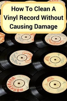 It's so easy to damage your records while cleaning them. I show you how to clean vinyl records the best way and a budget way, both without doing any harm. Deep Cleaning Tips, House Cleaning Tips, Cleaning Solutions, Spring Cleaning, Cleaning Hacks, All You Need Is, Jukebox, Clean Baking Pans, Cleaning Painted Walls