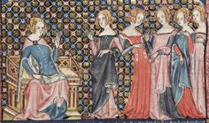 Bodleian Library MS. Bodl. 264, The Romance of Alexander in French verse, 1338-44; 97v
