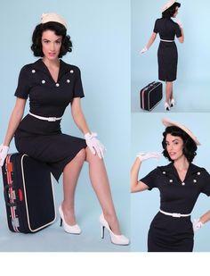 Nancy Dress - Rockabilly Clothing - Online Shop für Rockabillies und Rockabellas