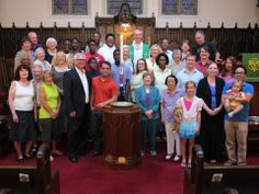 """For the members of Unity Lutheran, Chicago, their congregation """"Is the gathering of God's people, and we gather from the four corners of God's world, a rich and diverse oneness, partnering with our neighbors, strengthened by our unity."""" To learn more about the ELCA or to find an ELCA congregation go to elca.org."""