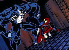 #Spiderman #spidermanunlimited Eddie Brock Venom, Spider Man Unlimited, Extreme Ghostbusters, Fox Kids, Black Spider, Batman Beyond, Man Vs, Amazing Spider, Marvel Comics