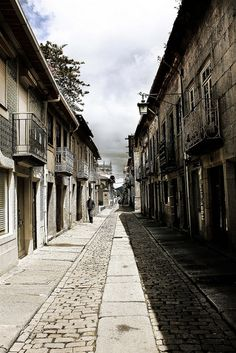 Street in Caminha by Mónica Isa Pinto, via Flickr