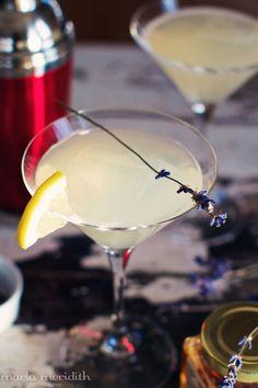Honey Bee Martini | a Skinny Cocktail | Recipe on FamilyFreshCooking.com