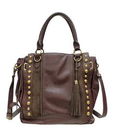 Another great find on #zulily! Chocolate Karina Tote by Jessica Simpson Collection #zulilyfinds