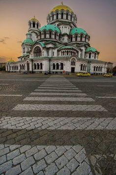 Alexander Nevsky cathedral,Bulgaria,