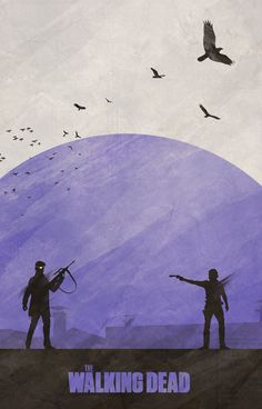 The Walking Dead Posters - Created by Colin Morella