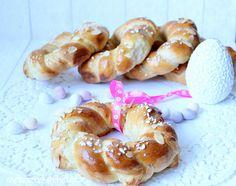 Rezepte mit Herz: Kleine Osterkränze ♡