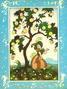Сказочные Иллюстрации: Эрик Булатов и Олег Васильев - Бабушка Вьюга* Children's Book Illustration, Book Illustrations, Grimm, Childrens Books, Fairy Tales, Fantasy, Nature, Blog, Inspiration