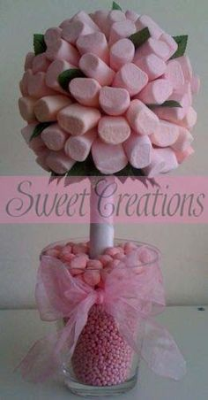 Marshmallow Pink Leaf  Sweet Tree