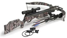 150lb Excalibur Vixen II. For small frame hunters,youth, and women. MSRP $700.00 but I'm sure you could find one cheaper.