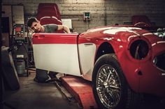 If you are an auto enthusiast, then you've probably had the desire to do a classic car restoration. Classic Car Restoration, Classic Car Insurance, Repair Shop, Car Repair, Ford Classic Cars, New Engine, Car Wallpapers, Car Show, Cool Cars