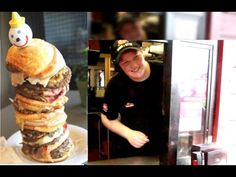"▶ $38.23 World's Single Most Expensive Fast Food Burger | ""Vigenuple Jumbo Jack"" - YouTube"