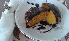 Bolo de Cenoura com Cobertura de Chocolate, Super Saudável! Como fazer Bolo de Cenoura Integral e fofinho. CLIQUE AQUI: www.magrasaudavel.net