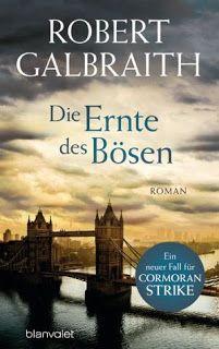 Lesendes Katzenpersonal: [Rezension] Robert Galbraith - Die Ernte des Bösen...