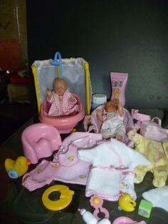 Baby Born mini world Badespass Set