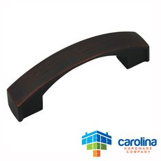 "Carolina Hardware Company Oil Rubbed Bronze Cabinet Hardware Handle Pull 3"" Inch Hole Centers (76mm)"
