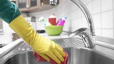 4 enkla sätt att hålla diskbänken superblank - Home Cleaning Products Bra Hacks, Bathroom Cleaning Hacks, Natural Cleaning Products, Spring Cleaning, Clean House, Good To Know, Diy And Crafts, Sink, Food And Drink