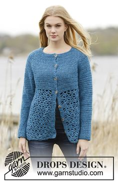 Ravelry: 164-33 Lakeside Cardigan by DROPS design