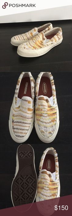 Missoni converse colab Convers did a co-lab with missoni and its 🙏🏻. Size 7.5. Never worn. Brand new. Super comfy easy to wear! Converse Shoes Sneakers