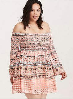 """<div>This 70's inspired multi-color mosaic print dress is oh-so-dreamy with sweeping bell sleeves and a billowy body. The smocked bodice and sleeves are stretchy-meets-sexy (pull it down a bit to show off those shoulders).</div><div><br></div><div><b>Model is 5'10"""", size 1<br></b><ul><li style=""""list-style-position: inside !important; list-style-type: disc !important"""">Size 1 measures 31"""" from shoulder</li><li style=""""list-style-position: inside !important; list-style-type: disc !im..."""