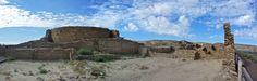 Panorama of the north edge of Chetro Ketl