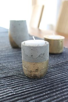 Mini Moonrock Candle Votive