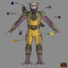 Star Wars Rebels Costume Color Guide for Padawans, Twi'leks, and More | StarWars.com