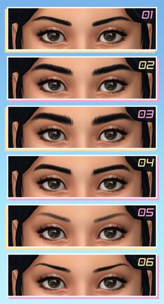 Maxis Match CC World - viola Maxis, Los Sims 4 Mods, Sims 4 Game Mods, Sims 4 Cc Eyes, Sims 4 Mm Cc, Sims Four, Sims 4 Mods Clothes, Sims 4 Clothing, Kendall Jenner Eyebrows