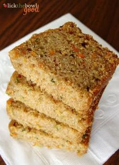 Carrot Zucchini Bread adapted from Baking With Lisa // I have this in the oven right now :)