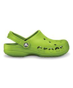 7cc3a60f6c7ff Volt Green Baya Clog - Unisex by Crocs