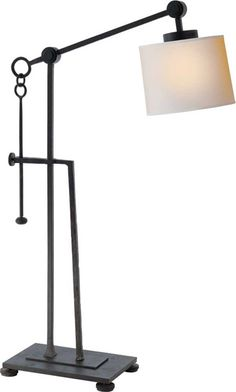ASPEN IRON TABLE LAMP  item # S3030BR-NP   | designer Studio