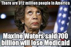 """Spread the loveDemocratic Representative from Los Angeles Maxine Waters has been a perennial addition to """"Most Corrupt Politicians"""" lists almost since the start of herContinue reading Liberal Hypocrisy, Liberal Logic, Politicians, Stupid Liberals, Frowny Face, Are You Serious, Maxine Waters, Stupid People, Evil People"""